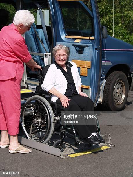 Wheelchair And Lift Van