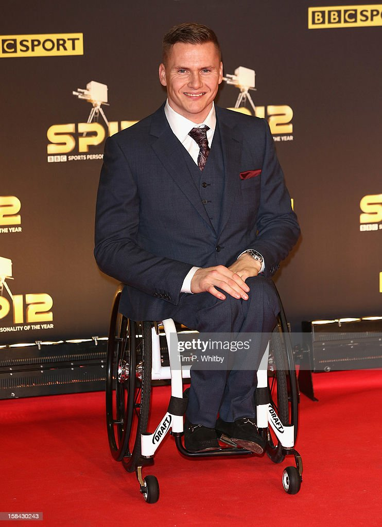 Wheelchair athlete David Weir attends the BBC Sports Personality of the Year Awards at ExCeL on December 16, 2012 in London, England.