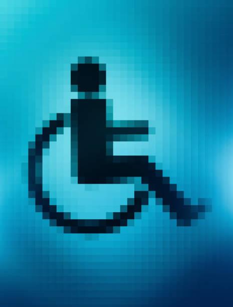 Wheelchair icon on screen