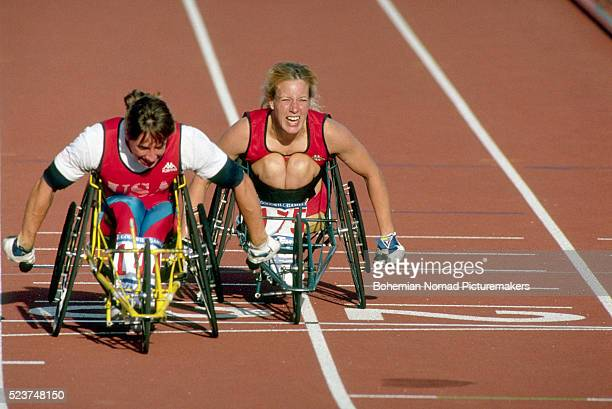 Wheelchair Race at 1990 Goodwill Games