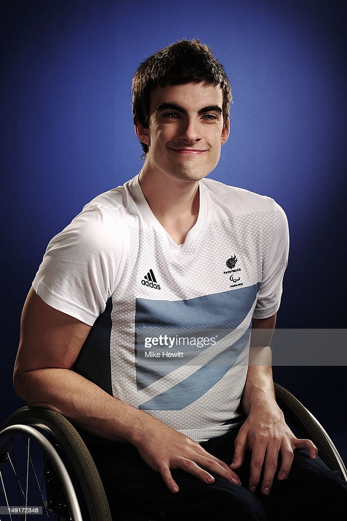 Wheelchair Rugby player David Anthony attends the Team GB Paralympic launch at the Park Plaza Hotel on July 13, 2012 in London, England