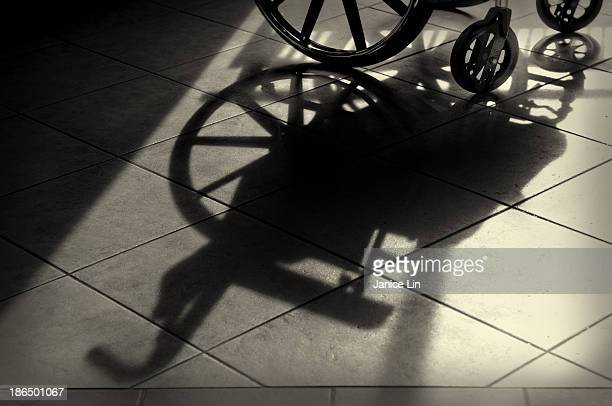wheelchair shadow