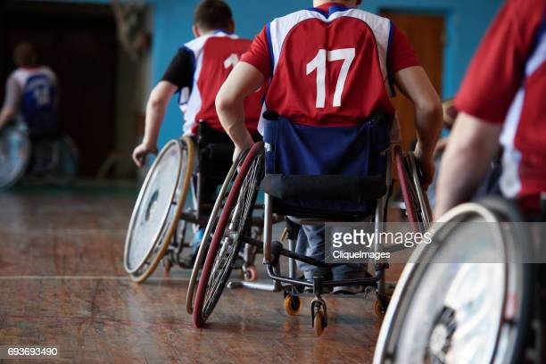 wheelchair sportsmen on training - cliqueimages stock pictures, royalty-free photos & images