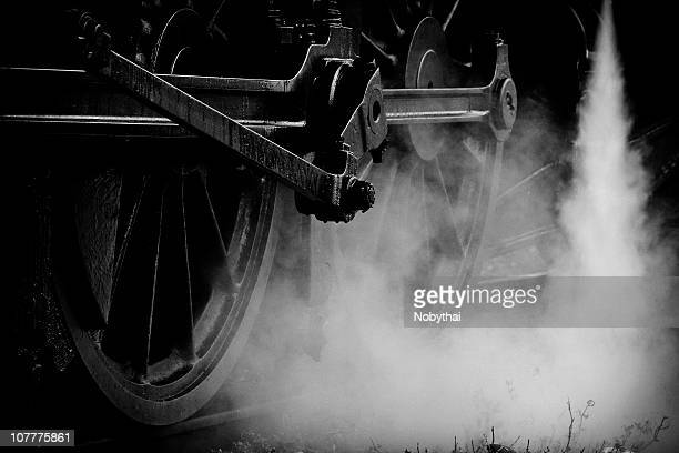 wheels : state railway of thailand (srt) anniversa - steam train stock pictures, royalty-free photos & images