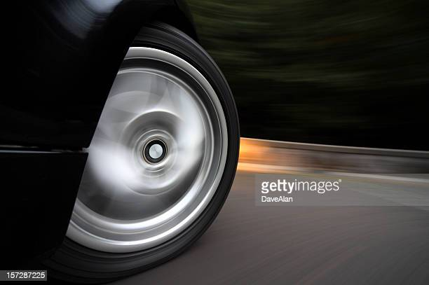 wheelspin - taking a corner stock pictures, royalty-free photos & images