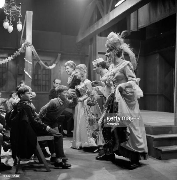 When 45 children from Wood Street Mission in Manchester were invited to take part in a 'Coronation Street' pantomime they really had a 'Cinderella'...