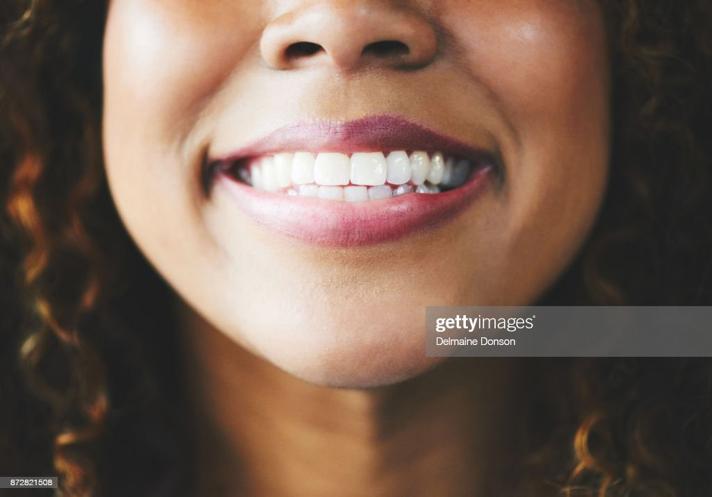 When all else fails, smile! : Stock Photo