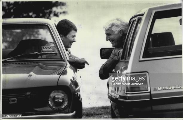 When Barry Gayden decided he wanted to meet Judith McDonald, he needed no introduction - he just gave a toot and a wave from his car and she pulled...