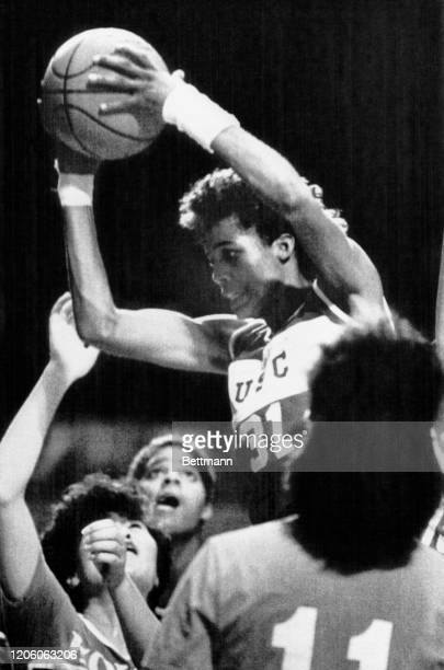When Cheryl Miller talks of the big screen, she no longer is necessarily referring to the picks former teammate Pam McGee used to set to spring her....