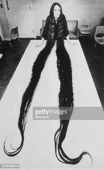 When Diane Witt Of Worcester, Massachusetts Lets Her Hair -7631