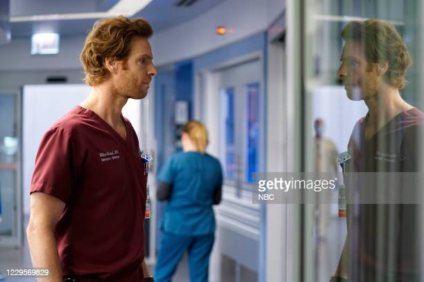 """When Did We Begin To Change"""" Episode 601 -- Pictured: Nick Gehlfuss as Dr. Will Halstead --"""
