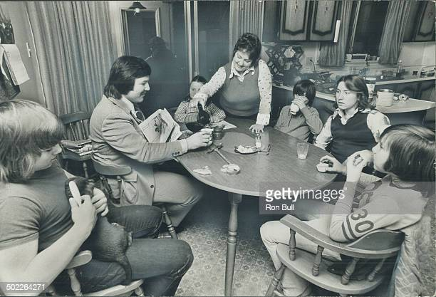 When George Chuvalo and family get together around the kitchen table for a snack the talk is much more likely to be about hockey than boxing George...