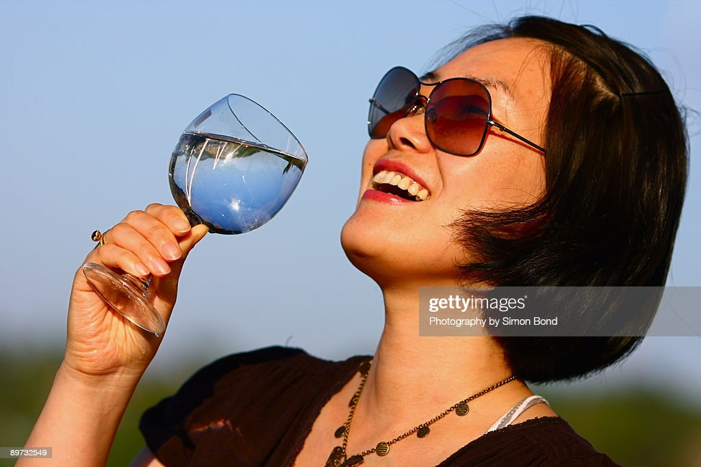 When happiness means the world : Stock Photo