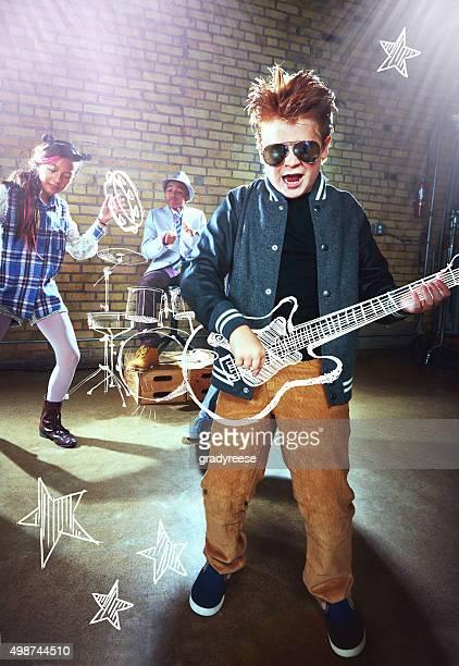 Wenn ich einmal möchte ich ein rockstar!