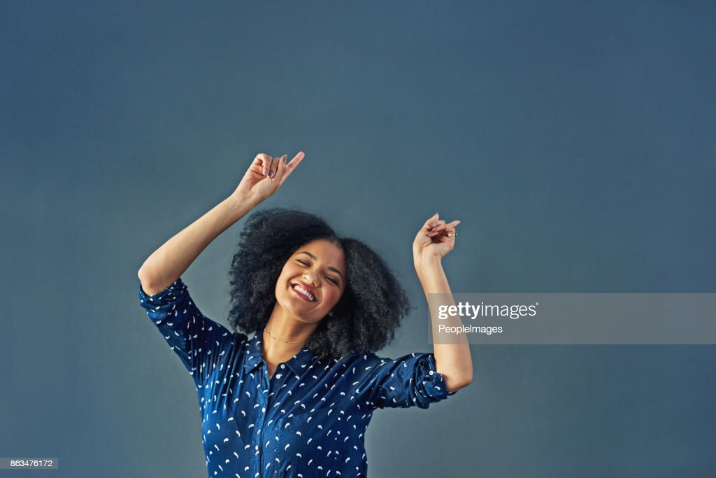 When in doubt, dance it out : Stock Photo