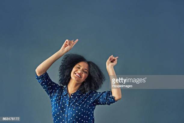when in doubt, dance it out - arms raised stock pictures, royalty-free photos & images