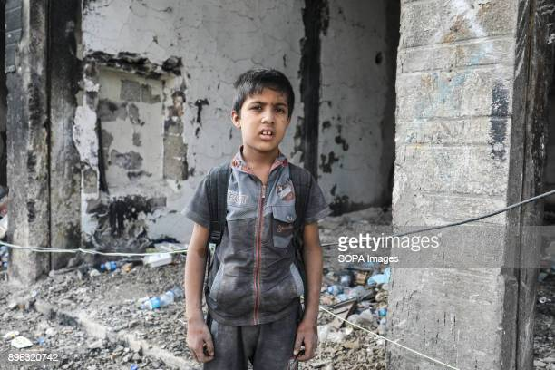 OLD CITY MOSUL NINEVA IRAQ When IS took Mosul schools were closed At the end children can go back to schools now However students dont have books...