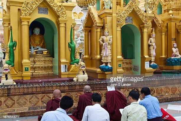 When Myanmar Buddhists go to the pagoda they know in their hearts that they are treading the noble path to that state where human nature will have a...