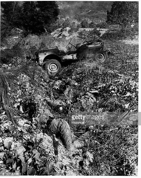 When one of their party was killed by shellfire from American guns on Saipan Island during World War II the other three Japanese soldiers with him...