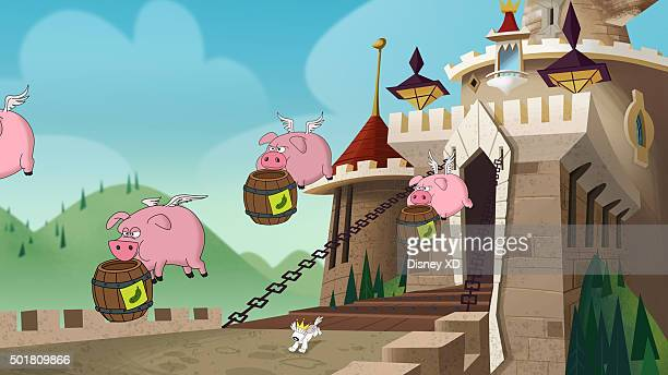 THE 7D 'When Pigs Fly' The 7D must stop a group of flying pigs from eating all the food in Jollywood This episode of The 7D premieres SATURDAY...