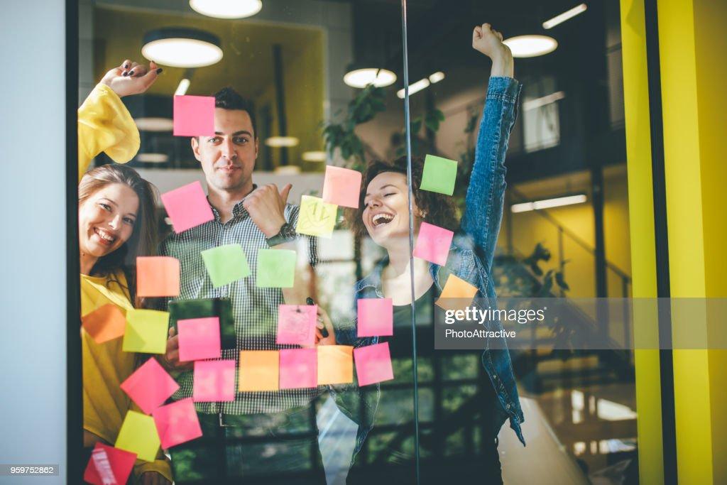 Wann ist die Produktivität einer Gruppenaktivität : Stock-Foto