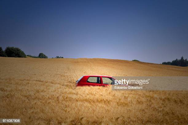 when reality exceeds imagination - abandoned car stock photos and pictures