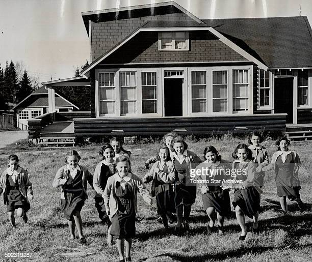 When school is out at Villa Notre Dame their former nursery leased to the Sisters of Assumption the Dionne quints and their classmates race for the...