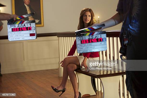 'When Smoke Clears' Behind the scenes on the set of the CBS drama RECKLESS scheduled to air on the CBS Television Network Pictured Anna Wood as Jamie...