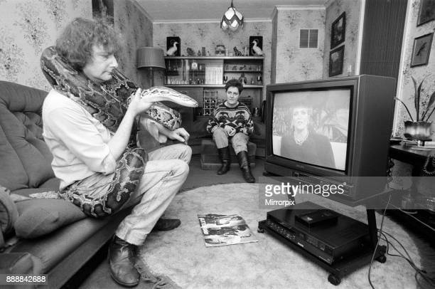 When snake lover Tony Griffiths settles down to watch TV with Monty his pet python his wife Marilyn moves as far away as a possible They live in...