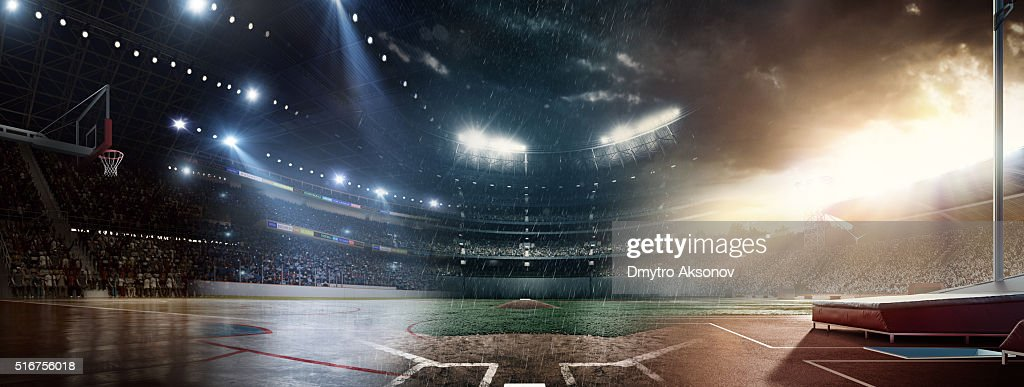 When sports meet each other : Stock Photo