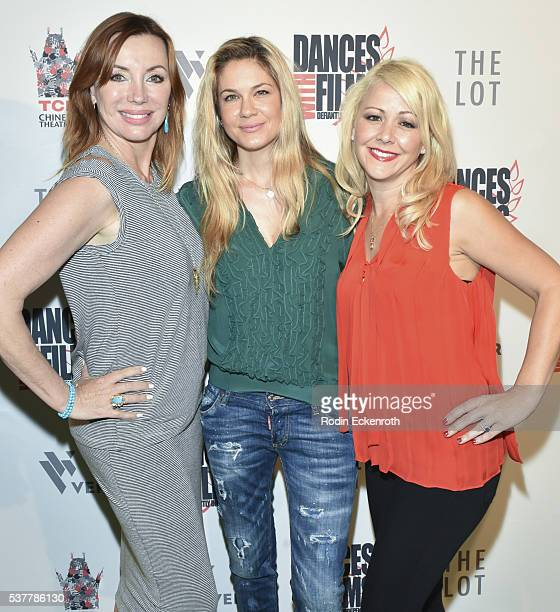 When The Bough Breaks Tanya Newbould Lindsay Gerszt and Jamielyn Lippman attend the 19th annual Dances with Films Festival Arrivals at Loews...