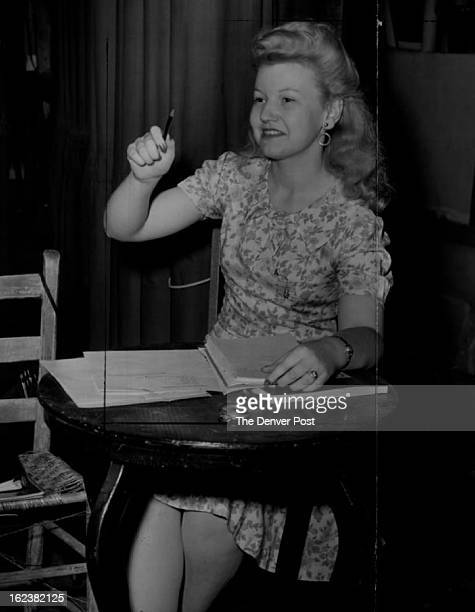JUN 26 1943 When The Stage Manager of The Denver Posts's Summer Operas happens to be a pretty girl the company is very eager to carry out directions...