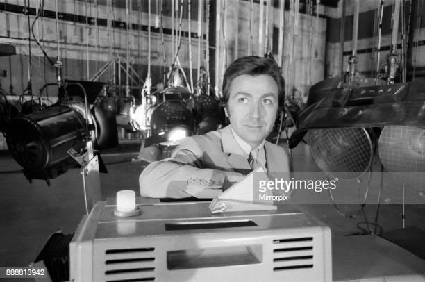 When the three hundred lights of all types and sizes are switched on the set of the Des O'Connor show it is much the same as switching on 200 ovens...