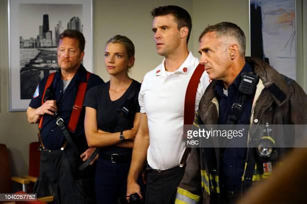 MED 'When To Let Go' Episode 402 Pictured Christian Stolte as Randy 'Mouch' McHolland Kara Killmer as Sylvie Brett Jesse Spencer as Matthew Casey...