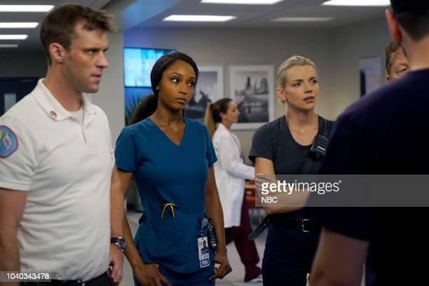 MED 'When To Let Go' Episode 402 Pictured Jesse Spencer as Matthew Casey Yaya DaCosta as April Sexton Kara Killmer as Sylvie Brett