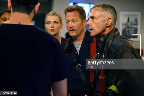 MED 'When To Let Go' Episode 402 Pictured Yaya DaCosta as April Sexton Kara Killmer as Sylvie Brett Christian Stolte as Randy 'Mouch' McHolland David...