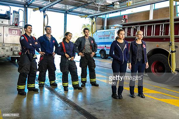 FIRE When Tortoises Fly Episode 408 Pictured Yuri Sardarov as Otis Jesse Spencer as Matthew Casey Monica Raymund as Gabriela Dawson Steven R McQueen...