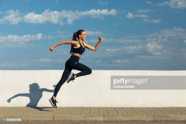 when training is a pleasure - leggings stock pictures, royalty-free photos & images