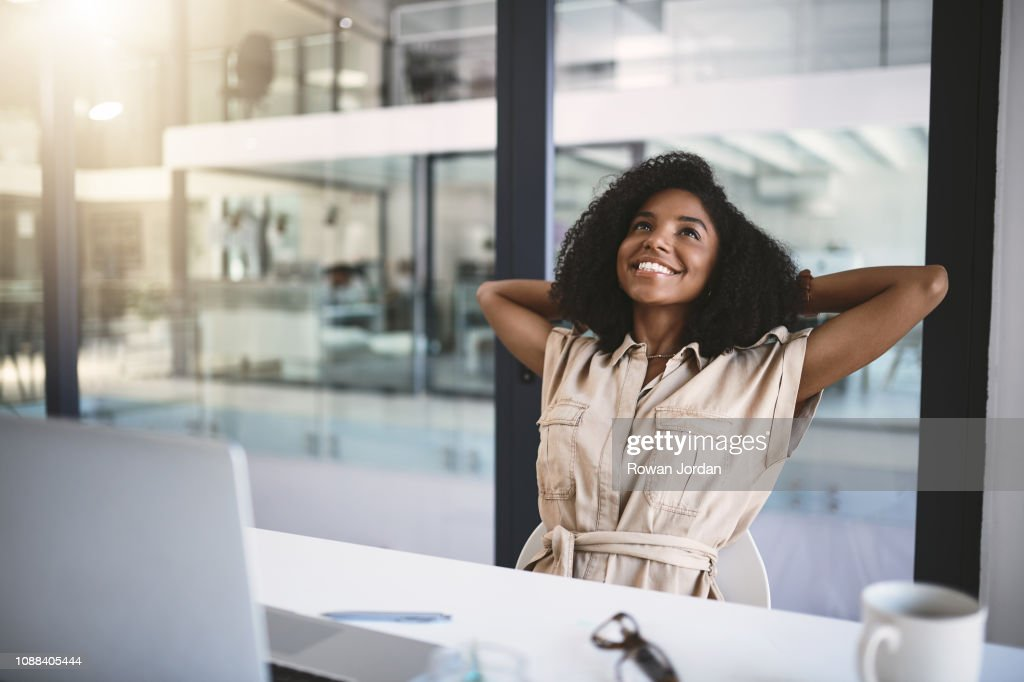 When work feels like a vacation : Stock Photo