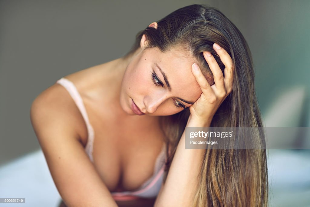 When you feel everything and nothing at the same time… : Stock Photo