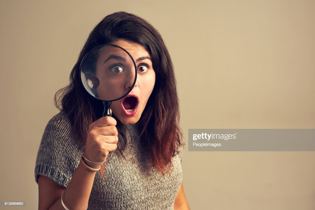 When you finally find what you've been stalking for : Stock Photo