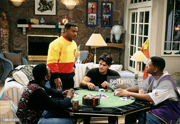AIR 'When You Hit Upon a Star' Episode 17 Air Date Pictured Jeffrey A Townes as Jazz Alfonso Ribeiro as Carlton Banks David Bortolucci as Mike Will...
