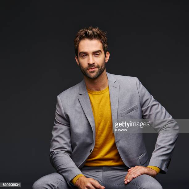 when you look good, you feel good - menswear stock pictures, royalty-free photos & images