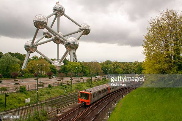 When you say Bruxelles, this is the thing that people have in mind. The Atomium at Heizel is one of the touristic spots in Brussels. The picture is...