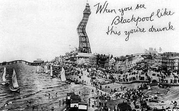 When You See Blackpool Like This You're Drunk, 20th Century. Wall Art