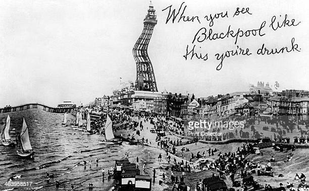 When you see Blackpool like this you're drunk 20th Century
