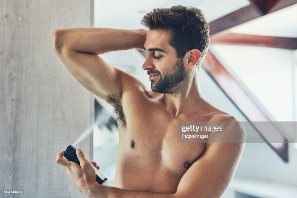 When you smell great you feel great : Stock Photo