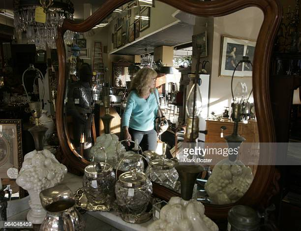 –When you step into the It's About Time Antiques Market in Orange it is sort of like looking through your grandmother's attic Old furniture is mixed...