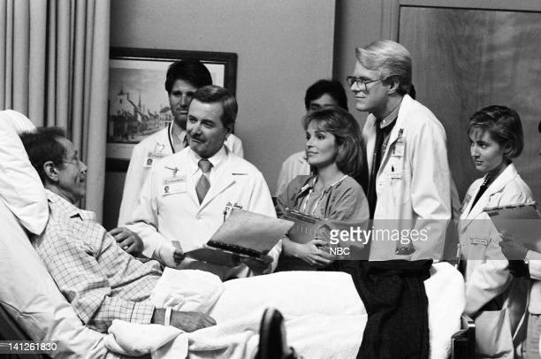 """When You Wish Upon a Scar"""" Episode 2 -- Pictured: Unknown patient, Terence Knox as Dr. Peter White, William Daniels as Dr. Mark Craig, Sagan Lewis as..."""