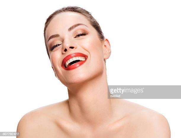 Wenn Sie zufrieden sind, Ihre Haut zeigt